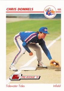 1991 Line Drive Pre-Rookie Chris Donnels