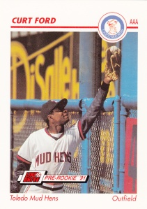 1991 Line Drive Pre-Rookie Curt Ford