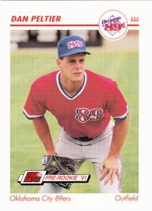 1991 Line Drive Pre-Rookie Dan Peltier