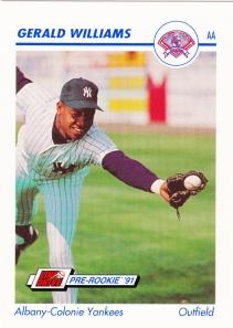1991 Line Drive Pre-Rookie Gerald Williams