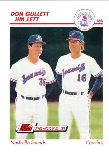 1991 Line Drive Pre-Rookie Gullett Lett