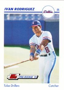 1991 Line Drive Pre-Rookie Ivan Rodriguez