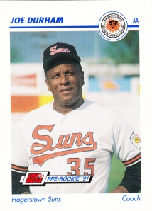 1991 Line Drive Pre-Rookie Joe Durham
