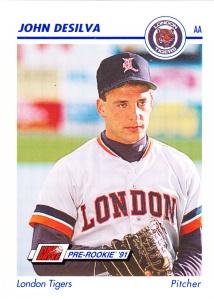 1991 Line Drive Pre-Rookie John DeSilva