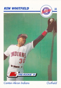 1991 Line Drive Pre-Rookie Ken Whitfield
