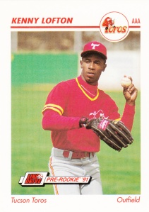 1991 Line Drive Pre-Rookie Kenny Lofton