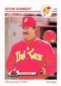 1991 Line Drive Pre-Rookie Kevin Kennedy