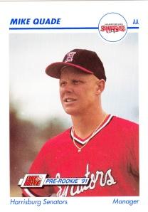 1991 Line Drive Pre-Rookie Mike Quade