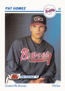 1991 Line Drive Pre-Rookie Pat Gomez