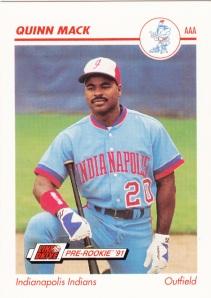 1991 Line Drive Pre-Rookie Quinn Mack