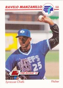 1991 Line Drive Pre-Rookie Ravelo Manzanillo