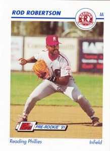 1991 Line Drive Pre-Rookie Rod Robertson