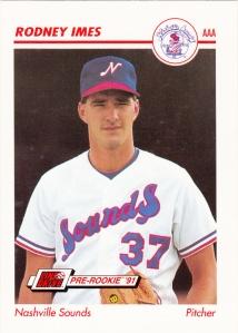 1991 Line Drive Pre-Rookie Rodney Imes