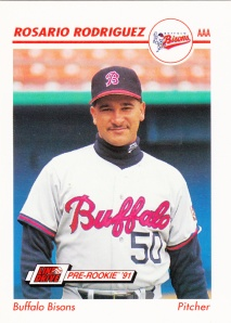 1991 Line Drive Pre-Rookie Rosario Rodriguez