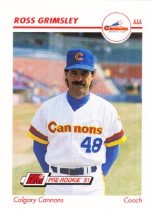1991 Line Drive Pre-Rookie Ross Grimsley