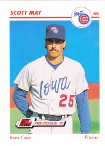 1991 Line Drive Pre-Rookie Scott May