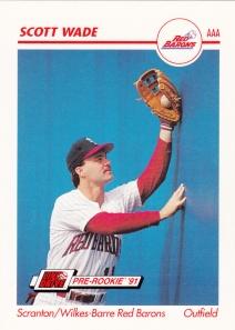 1991 Line Drive Pre-Rookie Scott Wade