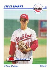1991 Line Drive Pre-Rookie Steve Sparks
