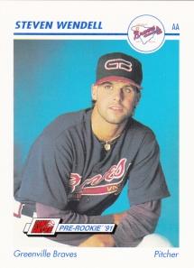 1991 Line Drive Pre-Rookie Steven Wendell