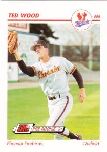 1991 Line Drive Pre-Rookie Ted Wood