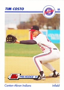 1991 Line Drive Pre-Rookie Tim Costo