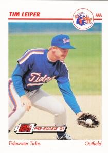 1991 Line Drive Pre-Rookie Tim Leiper