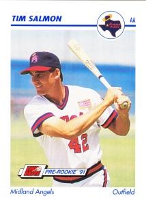 1991 Line Drive Pre-Rookie Tim Salmon