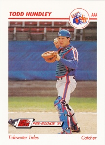 1991 Line Drive Pre-Rookie Todd Hundley