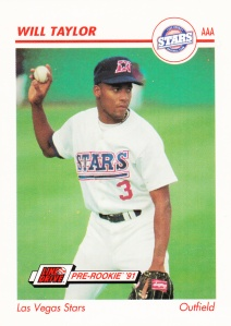 1991 Line Drive Pre-Rookie Will Taylor