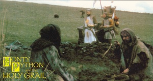 1996 Cornerstone Monty Python & The Holy Grail Constitutional Peasants