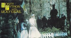 1996 Cornerstone Monty Python & The Holy Grail Knights Who Say Ni
