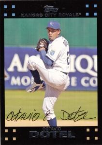 2007 Topps Octavio Dotel