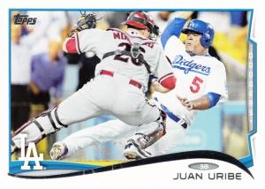 2014 Topps Juan Uribe