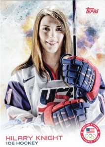 2014 Topps Olympics Hilary Knight