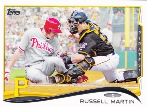 2014 Topps Russell Martin
