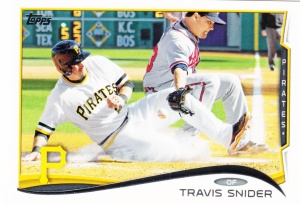 2014 Topps Travis Snider