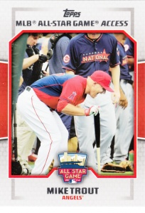 2014 Topps Update All-Star Game Access Mike Trout