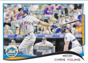 2014 Topps Update Chris Young