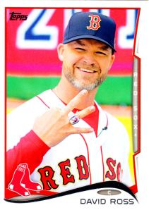 2014 Topps Update David Ross
