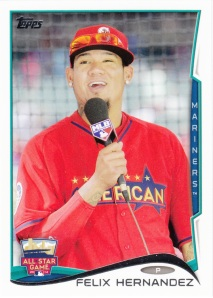 2014 Topps Update Felix Hernandez AS