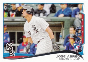 2014 Topps Update Juse Abreu debut