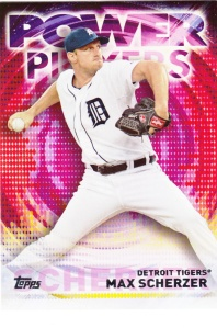 2014 Topps Update Power Players Max Scherzer