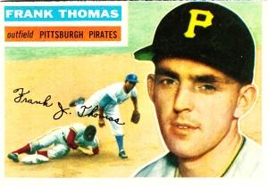 1956 Topps Frank Thomas