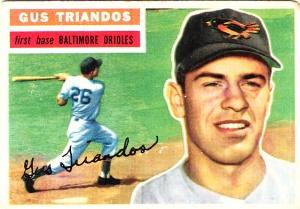 1956 Topps Gus Triandos