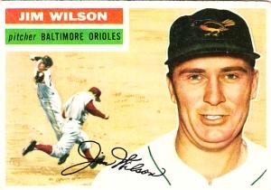 1956 Topps Jim Wilson
