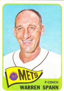 1965 Topps Warren Spahn