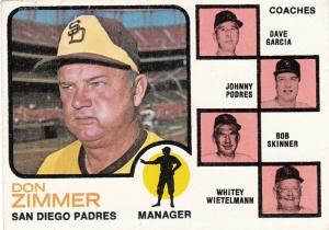 1973 Topps Don Zimmer