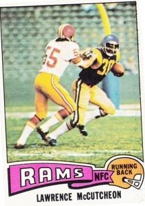 1975 Topps Football Lawrence McCutcheon