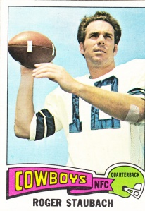 1975 Topps Football Roger Staubach