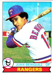 1979 Topps Juan Beniquez